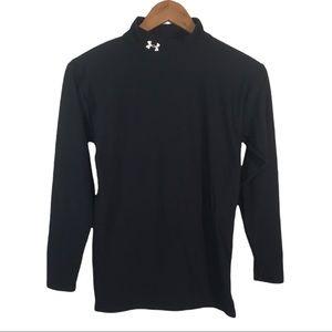 LS105 Under Armour Mock Neck Compression Shirt L